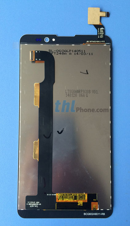 thl t200 screen display