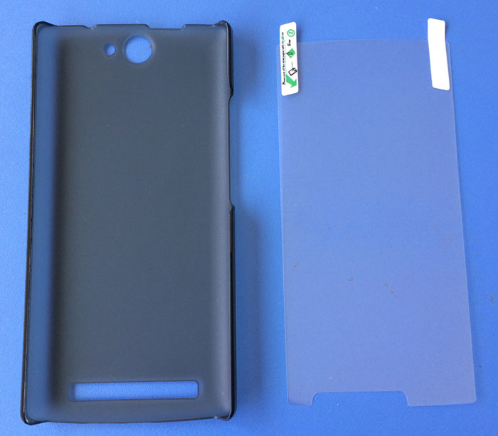 original thl 5000T protect hard case cover and screen film